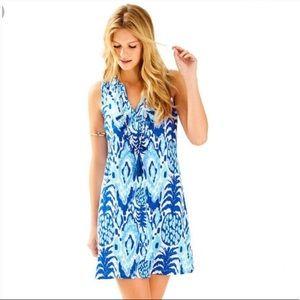 Lilly Pulitzer Ikat cotton Pineapple Dev Dress